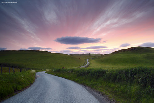 The long and winding road by SwaloPhoto