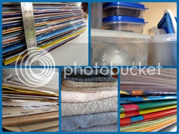 Photo collage - De-cluttering Week 4