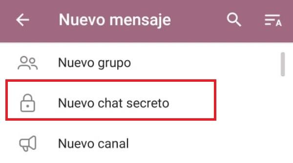 Cómo crear un chat contigo mismo en Telegram