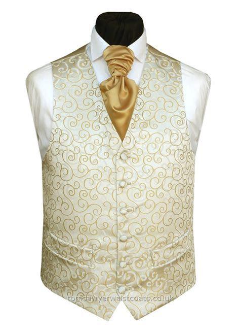 RUMOURS GOLD NON SILK Waistcoat   Wedding Waistcoats