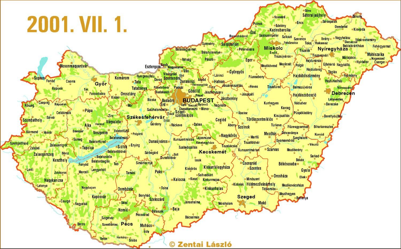 magyarország térkép nyomtatható Magyarország Térkép Nyomtatható | Térkép