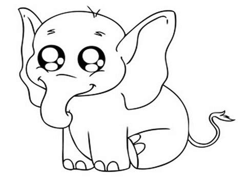 baby animal coloring pictures  bestofcoloringcom