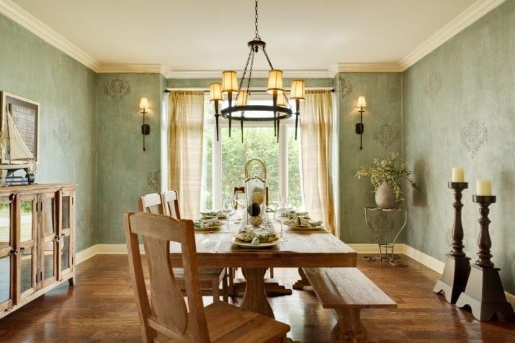 Wandgestaltung im Esszimmer: 25 originelle Designs & Ideen