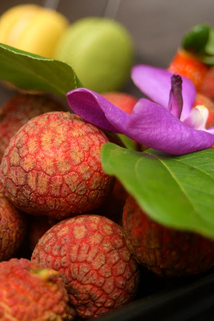 Can I show you the luscious lychees again?