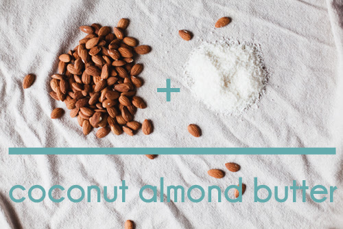coconut almond butter // the little red house