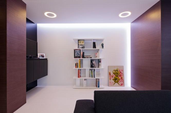 White bookcase