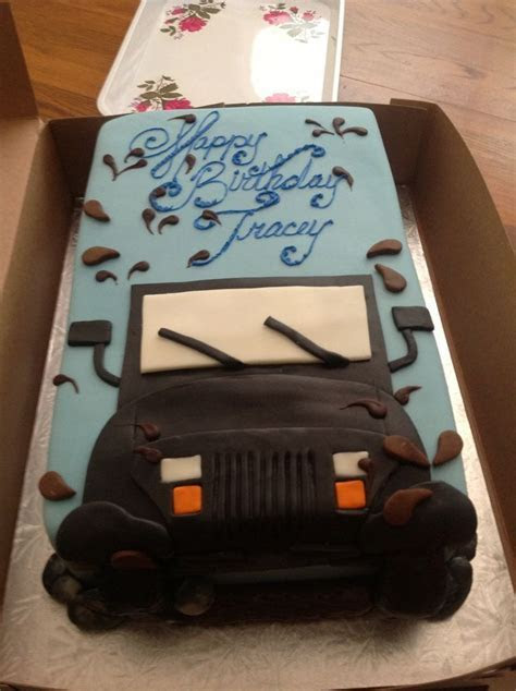 1000  ideas about Jeep Cake on Pinterest   Cakes, Ferrari