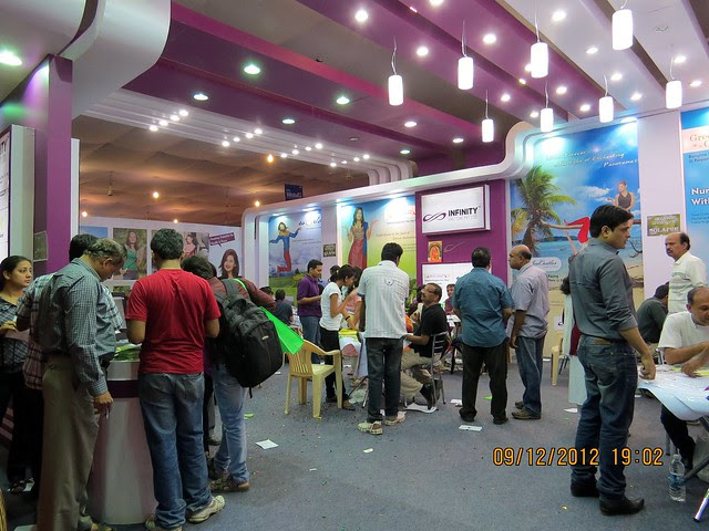 Pune Property Exhibition - Sakal Vastu - Property Expo - December 2012 - 4