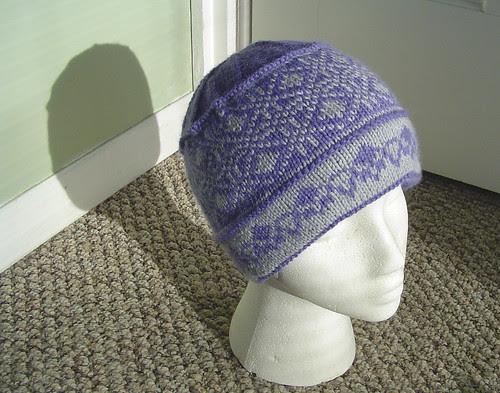 faux brim hat