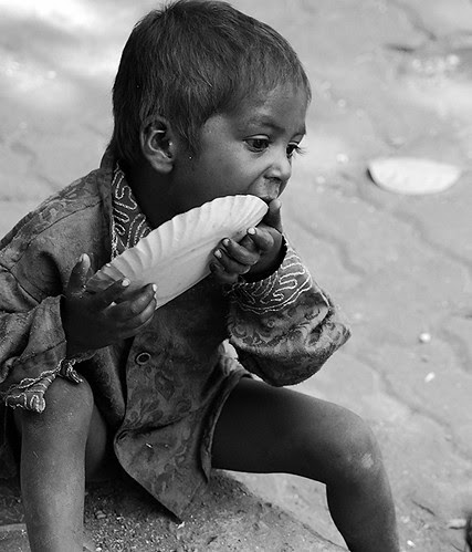 Hunger knows no friend but its feeder. Aristophanes by firoze shakir photographerno1