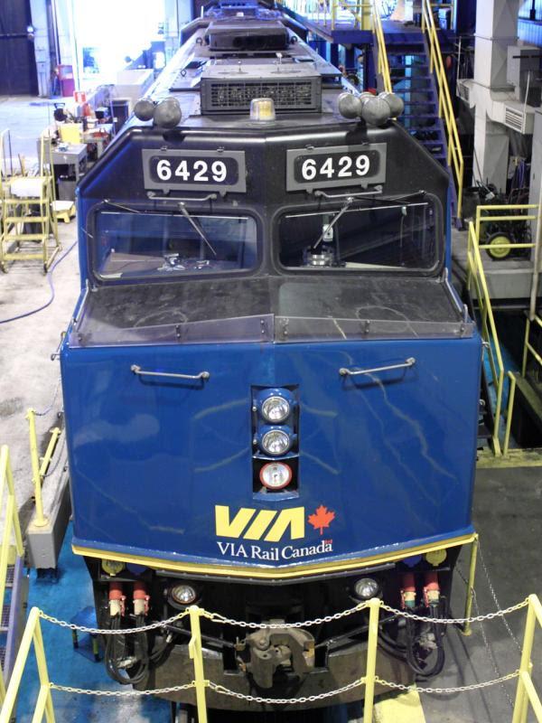 VIA 6429's nose