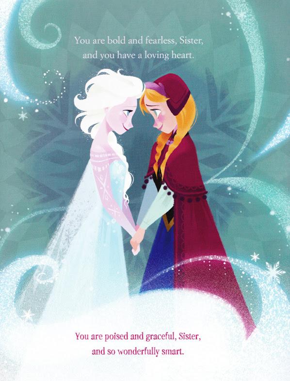 手をつなぐアナとエルサ アナと雪の女王 公式の2dイラストが