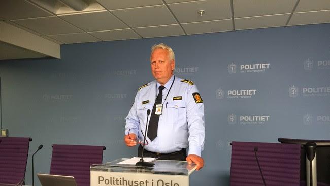 Torstein Holand, fungerende leder for organisert kriminalitet i Oslo politidistrikt.