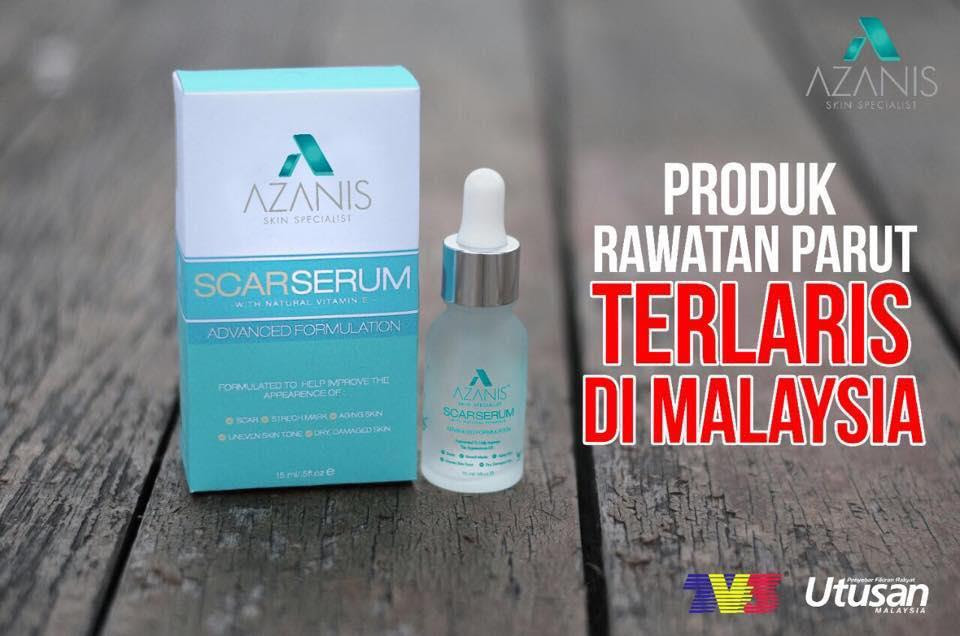 AZANIS SCAR SERUM ADVANCED FORMULATION ( NEW )