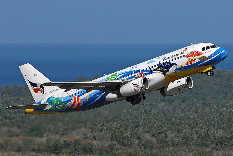 Siem Reap Air Airbus A320