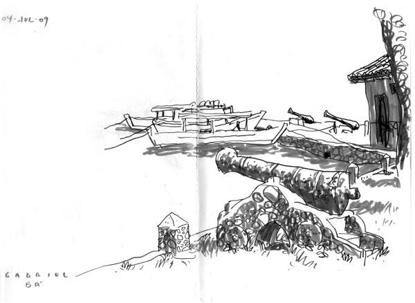 Paraty sketch 03