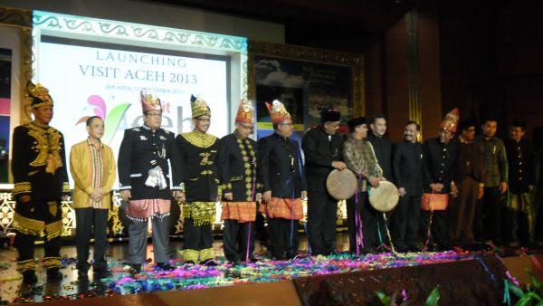 Suasana Peluncuran  http://fokusaceh.blogspot.com/2012/11/66-Persen-Wisatawan-Aceh-Berasal-dari-Malaysia.html