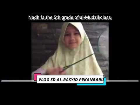 Nadhifa the 5th grade of al Mudzil class
