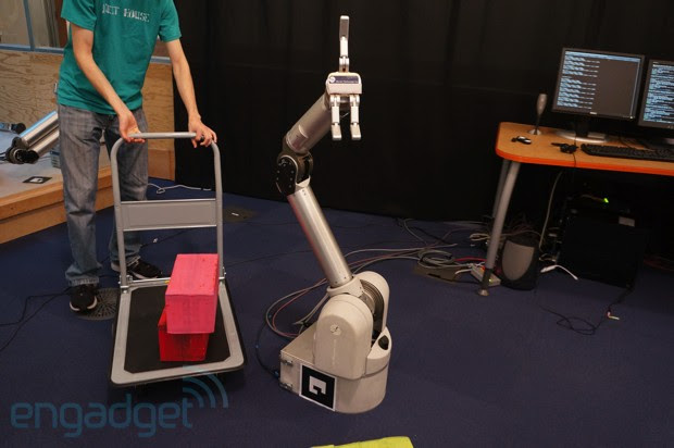 MIT robot arm corrects colorful blockrelated mishaps video