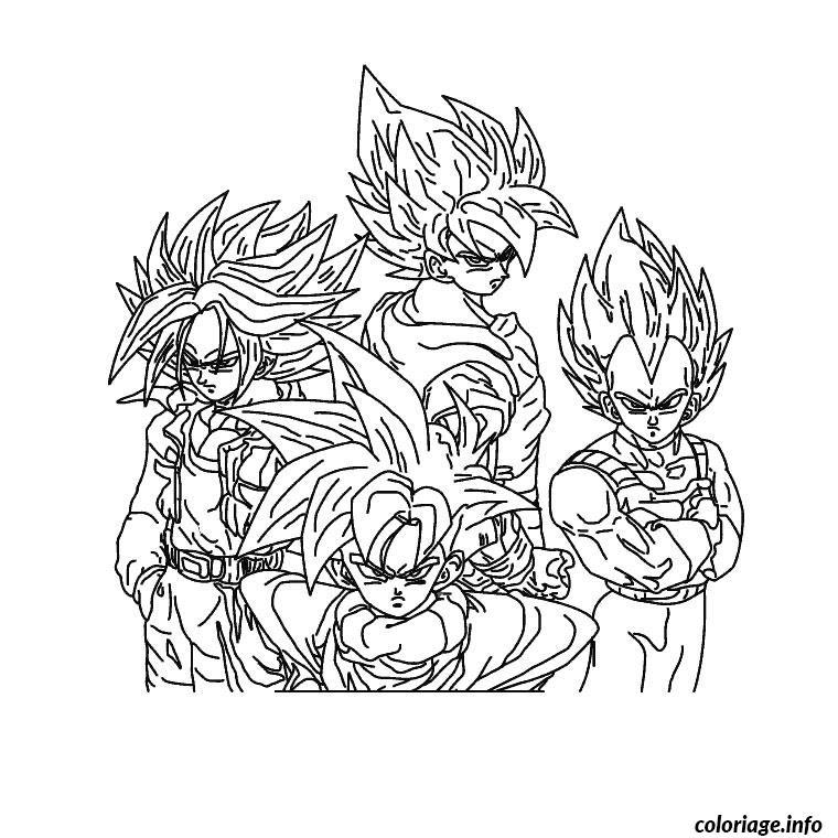 Coloriage Dragon Ball Z Jecoloriecom