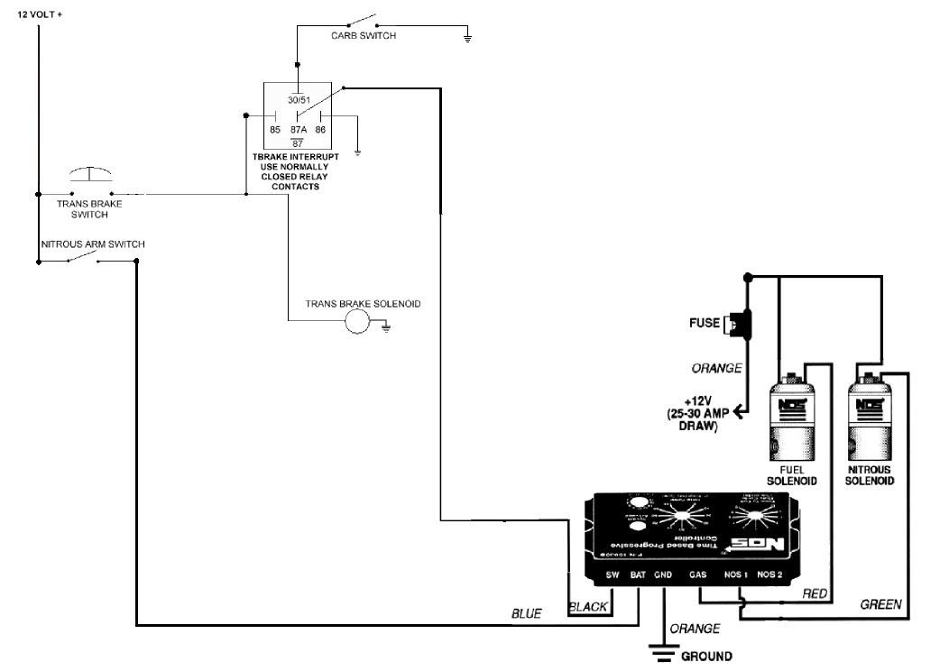 Transbrake And Nos Controller Wiring Dragstuff