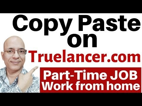 Work from home | Best part time job | freelance | truelancer.com | पार्ट...