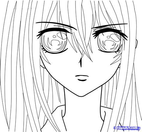 draw yuki kuran  vampire knight step  step
