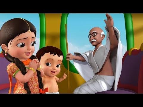 गांधी जी के 3 बंदर कविता    Gandhi Ji Ke Teen Bandar Poem in Hindi