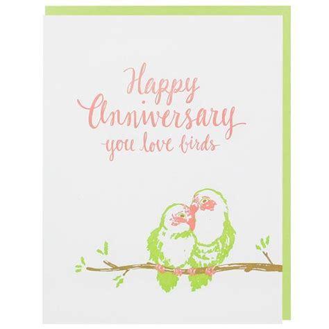 Love Birds Anniversary Card   Happy Anniversary Cards