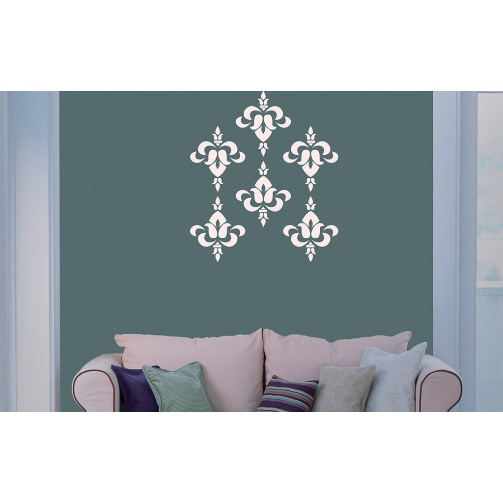 Brocade Asian Paints Wall Fashion Stencil Buy Online