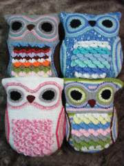 Owl Cushions - Electronic Download