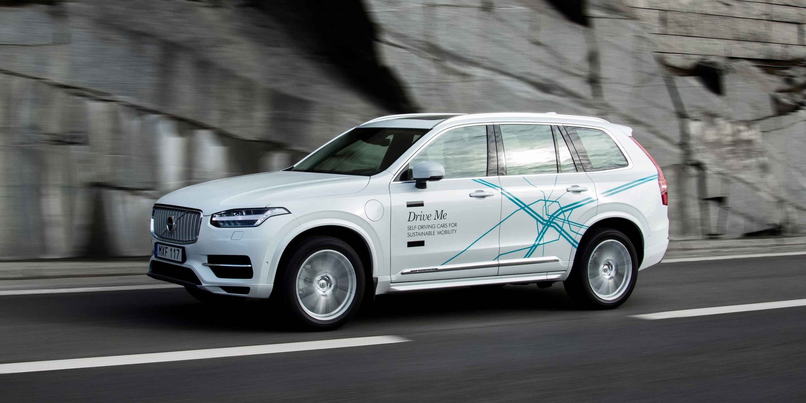 """DT10 Cars - Volvo XC90 """"Drive Me"""" self-driving car"""