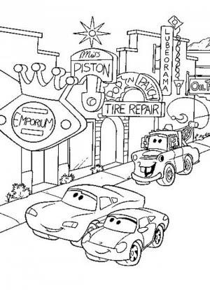 Cars Para Colorear Pintar E Imprimir