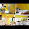 Dekorasi Desain Dapur Nuansa Kuning Terbaru