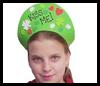 """Kiss Me"" Crowns St. Patrick's Day Visors Craft"