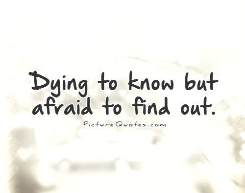 Fear Of The Unknown Quotes Sayings Fear Of The Unknown Picture