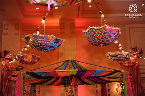 Sangeet, Garba & Mehndi Decor   Occasions By Shangri La