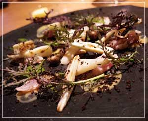 室町「LA BONNE TABLE」にて、前菜は鯖!鯖!!!(←大好物)