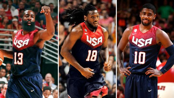 James Harden, Kenneth Faried