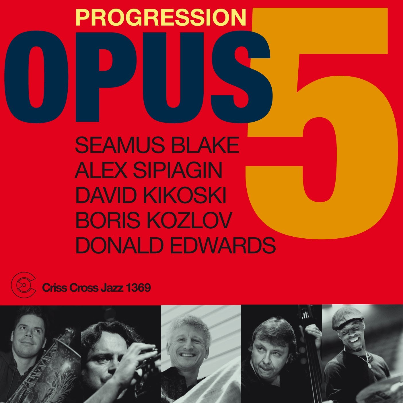 Opus 5 - Progression  cover