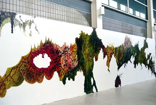 abstract art at the Centre:MK