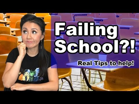 I'm failing school - How to do better & what school staff can do to help!