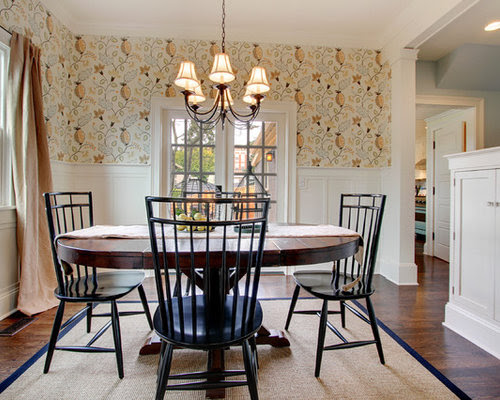 Half Wall Wallpaper Home Design Ideas, Pictures, Remodel ...