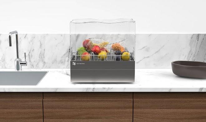 Экономичная посудомойка Tetra Heatworks уместится на кухонном столе