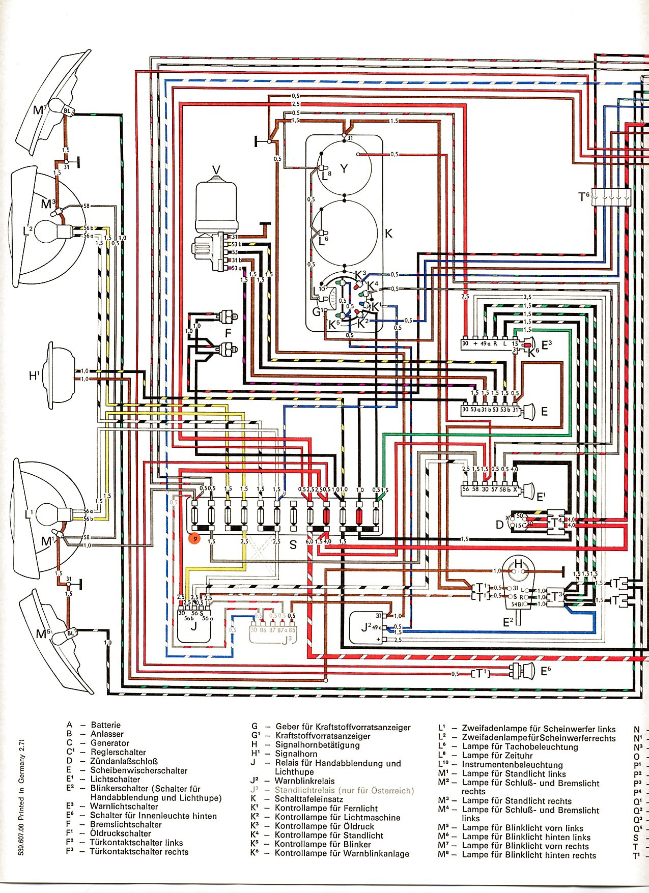 1972 Vw Super Beetle Wiring Diagram Wiring Diagram View A View A Zaafran It