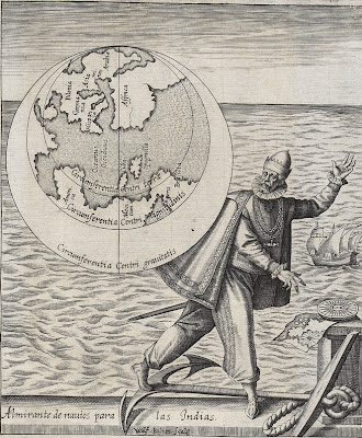 Christoper Columbus and the mythological map