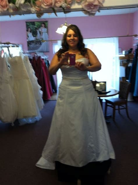 Ok to wear my wedding dress to dinner after eloping?