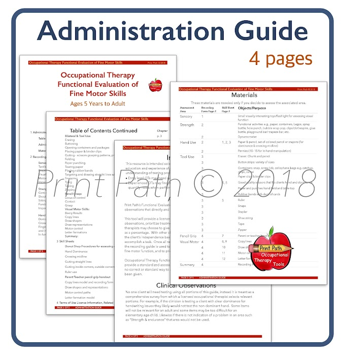 Occupational Therapy Assessment Tools