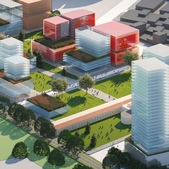 Parque de la innovación: otro proyecto que sumará torres y espacio público