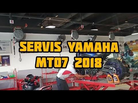 MT07 | Service At Yamaha Centre | Darksiders